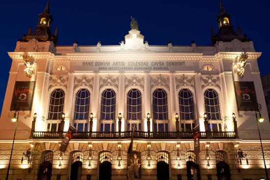 Berlin, Theater Der Westens, Dusk-Catharina Lux-Photographic Print