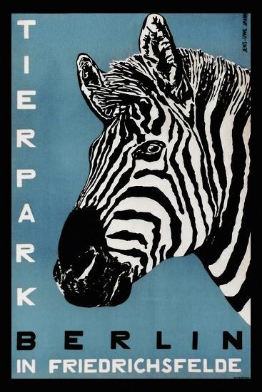 Berlin Zoo-Vintage Lavoie-Giclee Print