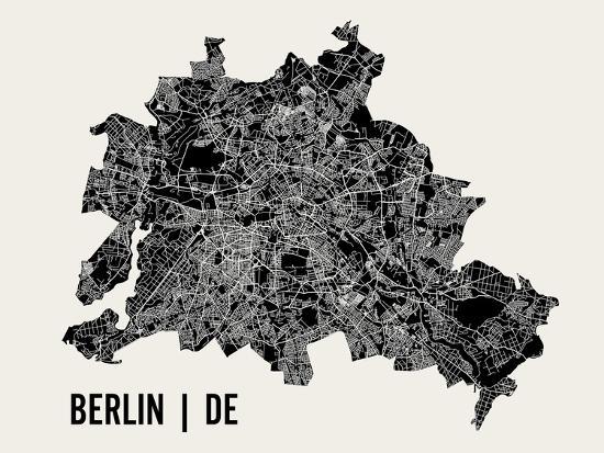 Berlin-Mr City Printing-Art Print