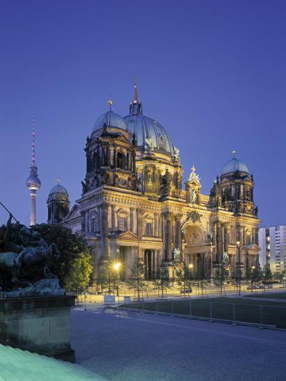 Berliner Dom, Berlin, Germany-Jon Arnold-Photographic Print