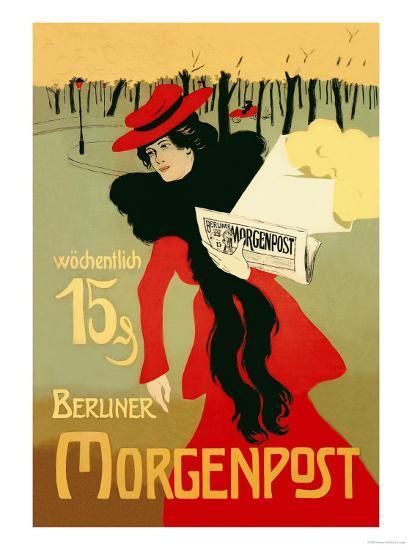 Berliner Morganpost-Howard Pyle-Art Print