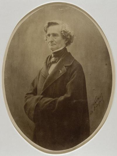 Berlioz Hector, compositeur (1803-1869)-Gaspard Félix Tournachon-Giclee Print
