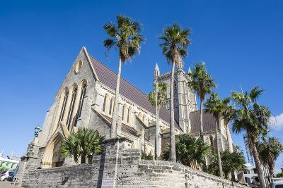Bermuda Anglican Cathedral, Hamilton Capital Of, Bermuda, United Kingdom-Michael Runkel-Photographic Print