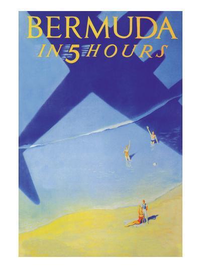 Bermuda in 5 Hours-Paul George Lawler-Art Print