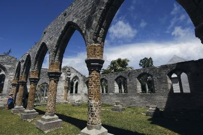 Bermuda, St George's Island, St George, Incomplete Cathedral--Giclee Print