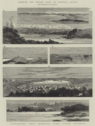 Bermuda, the Winter Home of Princess Louise-Charles Auguste Loye-Giclee Print