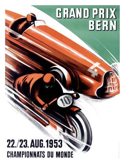 Bern Grand Prix, c.1953-Ernst Ruprecht-Giclee Print