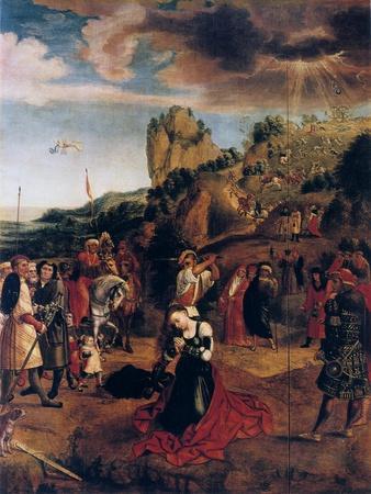 The Martyrdom of Saint Catherine, 16th Century
