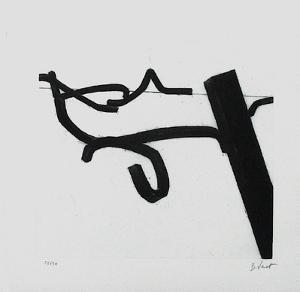 Composition I by Bernar Venet