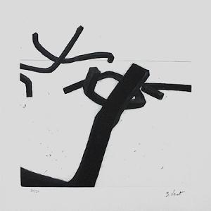 Composition III by Bernar Venet