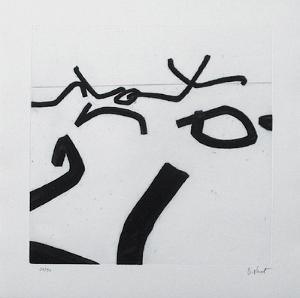 Composition IV by Bernar Venet
