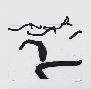Composition V by Bernar Venet