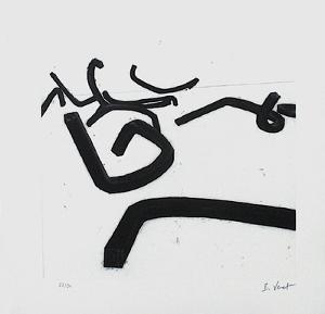 Composition VI by Bernar Venet