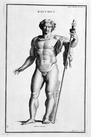 Bacchus, after a Roman Statue, 1757