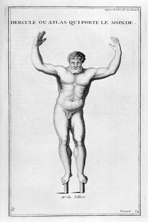 Hercules Who Carries the World, 1757