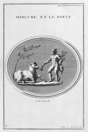 Mercury and the Ox, 1757