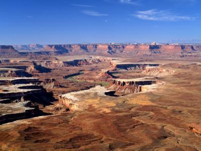 Canyonlands National Park From Island in the Sky, Green River, Turks Head, Utah, USA by Bernard Friel
