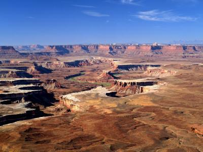 Canyonlands National Park From Island in the Sky, Green River, Turks Head, Utah, USA