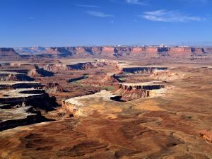 Canyonlands National Park From Island in the Sky, Green River, Turks Head, Utah, USA by Bernard Friel