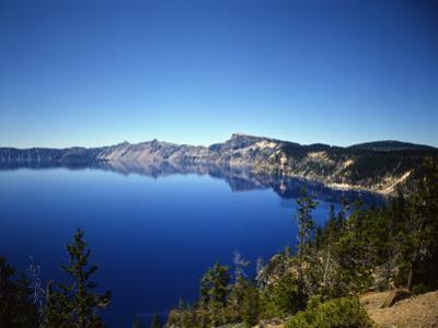 Crater Lake in Crater Lake National Park, Oregon, USA by Bernard Friel