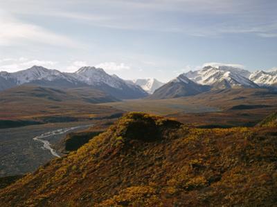 Denali National Park and Preserve, East Fork of Toklat River Across Murie Plain, Alaska, USA by Bernard Friel