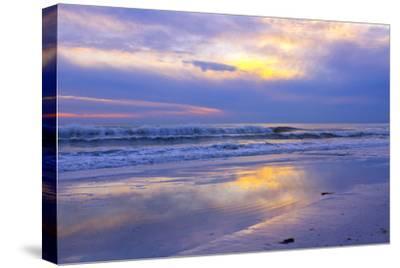 Florida, Sarasota, Crescent Beach, Siesta Key, Sunset over Ocean