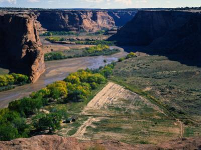 Tsegi Overlook Along the South Rim Drive, Canyon De Chelly National Monument, Arizona, USA by Bernard Friel