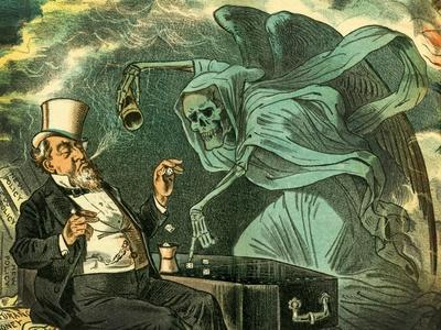 Gambling with Death, 1883
