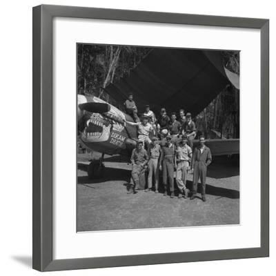 An 88th Flight Squadron Crew on the Ledo Road, Burma, 1944