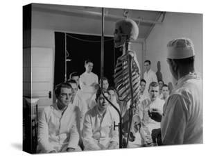 Medical Class at Fort Dix by Bernard Hoffman