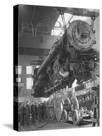 New Locomotives Being Built in Main Shop