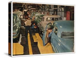 New Studebaker Sedans by Bernard Hoffman