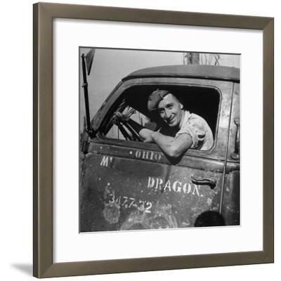 Portrait of Us Army Cpl Kenneth C Atkins (Of Marion, North Carolina), Ledo Road, Burma, July 1944