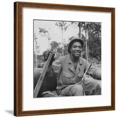 Portrait of Us Army Driver Earlie Colbert (From Maryland), Ledo Road, Burma, July 1944