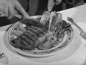 Steak by Bernard Hoffman