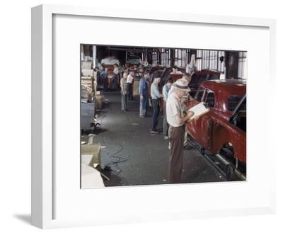 Studebaker Assembly Line in South Bend Indiana