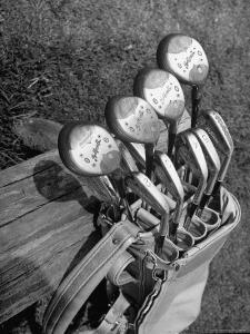 View of Golf Clubs by Bernard Hoffman
