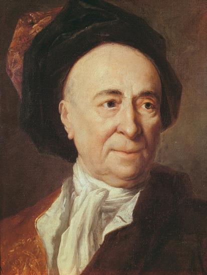 Bernard Le Bovier De Fontenelle-Nicolas de Largilliere-Giclee Print