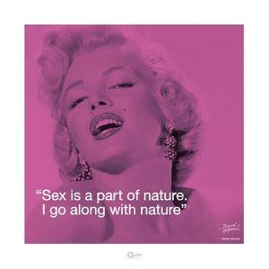 Marilyn Monroe – Nature by Bernard of Hollywood