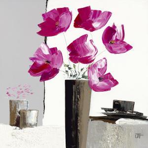 Pivoines Roses II by Bernard Ott