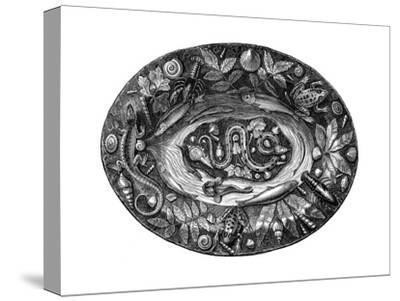 Enamelled Dish by Bernard Palissy, 16th Century