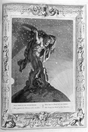 Atlas Supports the Heavens on His Shoulders, 1733