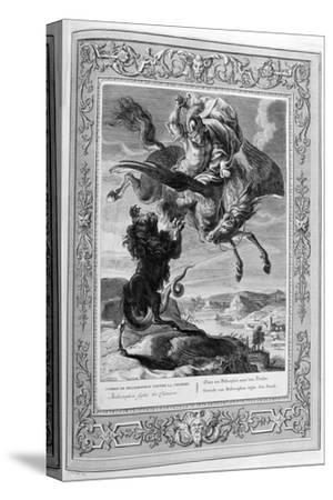 Bellerophon Fights the Chimera, 1733