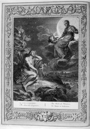 The Moon and Endymion, 1733