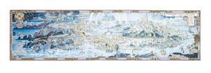 An Anciente Mappe Of Fairyland, 1920 by Bernard Sleigh