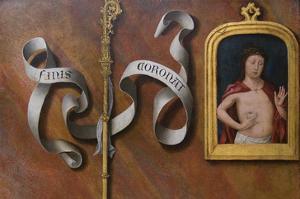 Man of Sorrows by Bernard van Orley