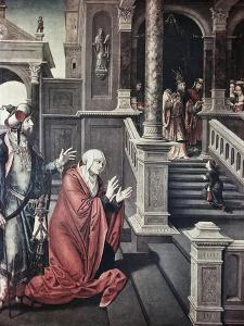 Presentation of Mary in the Temple by Bernard van Orley