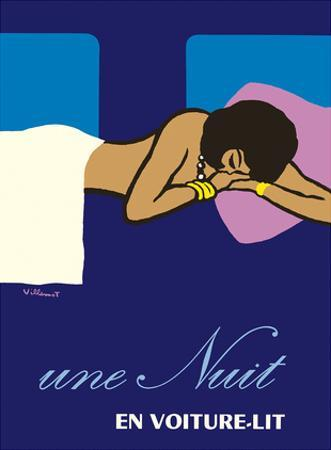 A Night in a Sleeper Car Train (Une Nuit en Voiture-lit) - French National Railways SNCF
