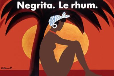 Negrita Le Rhum by Bernard Villemot