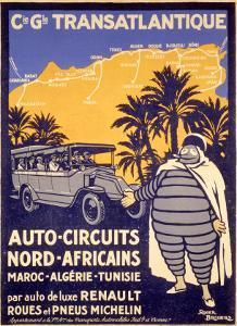 North African Michelin Tire Tour by Bernard Villemot